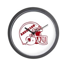 Personalized Football Wall Clock