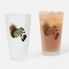 Squirrel Rotary Phone Drinking Glass