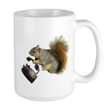 Squirrel Rotary Phone Mug