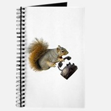 Squirrel Rotary Phone Journal