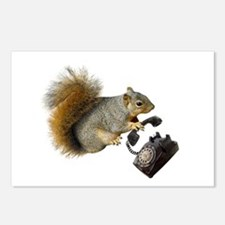 Squirrel Rotary Phone Postcards (Package of 8)