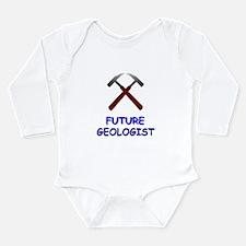 Future geologist Infant Creeper Long Sleeve Infant