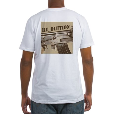 RE_OLUTION Fitted T-Shirt