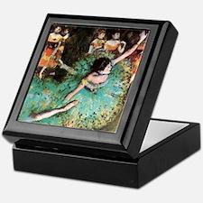 Edgar Degas The Green Dancer Keepsake Box