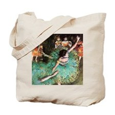 Edgar Degas The Green Dancer Tote Bag