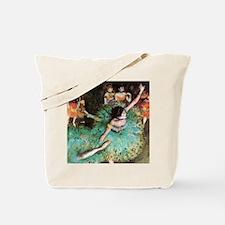 Edgar Degas The Green Dancer Tote Bag