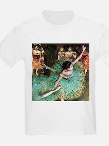 Edgar Degas The Green Dancer T-Shirt