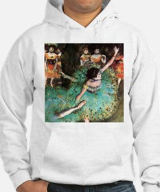 Edgar Degas The Green Dancer Hoodie