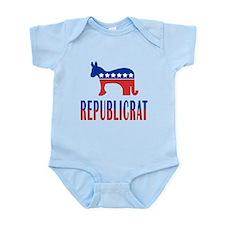 Republicrat Infant Bodysuit