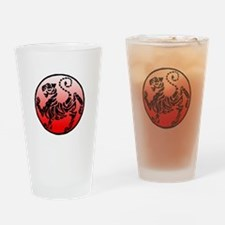 shotokan - black tiger on red and white Drinking G