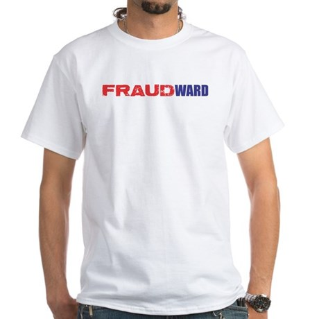 FRAUDWARD White T-Shirt