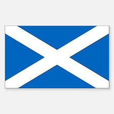 Scottish Flag Bumper Stickers