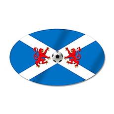 Scottish Football Flag Wall Decal