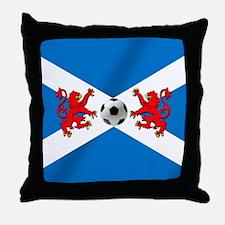 Scottish Football Flag Throw Pillow