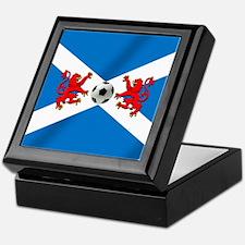 Scottish Football Flag Keepsake Box