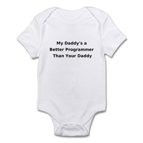 Programmer Daddy Infant Creeper