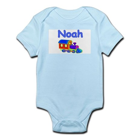 Train Engine Noah Infant Creeper
