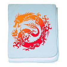 Tr-dragon baby blanket