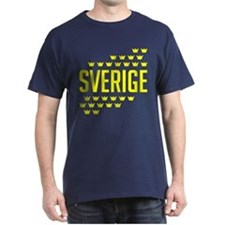 Sveriges kronor T-Shirt