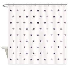 Tiny Stars Shower Curtain
