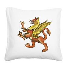 Griffin Square Canvas Pillow