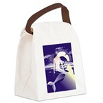 Mermaid Art Canvas Lunch Bag