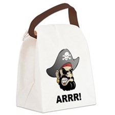Arr Pirate Canvas Lunch Bag
