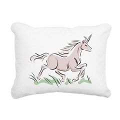 Unicorn Rectangular Canvas Pillow