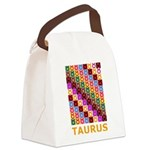Pop Art Taurus Canvas Lunch Bag