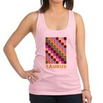 Pop Art Taurus Racerback Tank Top