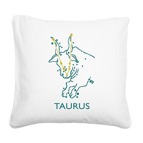 Taurus Square Canvas Pillow