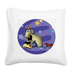 Capricorn Square Canvas Pillow