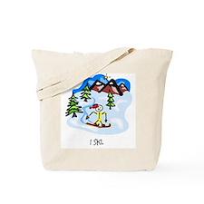 I ski. Tote Bag