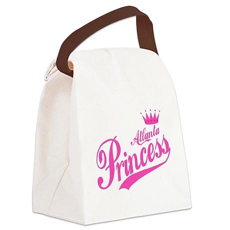 Atlanta Princess Canvas Lunch Bag