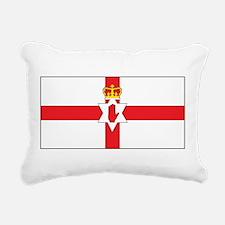 Northern Ireland Flag Rectangular Canvas Pillow