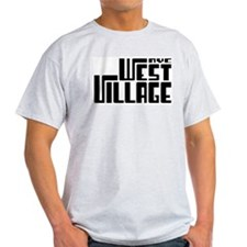 West Village NYC Ash Grey T-Shirt