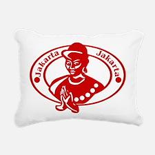 Jakarta Rectangular Canvas Pillow