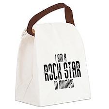 Rock Star In Mumbai Canvas Lunch Bag