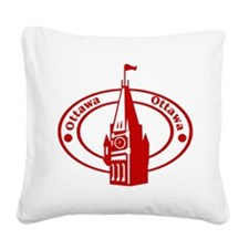 Ottawa Square Canvas Pillow