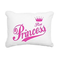 Pisa Princess Rectangular Canvas Pillow