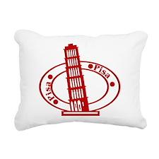 Pisa Rectangular Canvas Pillow