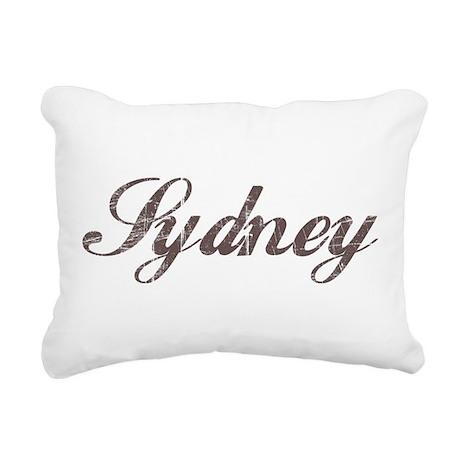 Vintage Sydney Rectangular Canvas Pillow