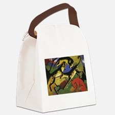Franz Marc Playing Dogs Canvas Lunch Bag