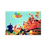 The Pride Festival Party Rectangle Magnet (100 pa