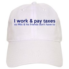 Working Class Taxes Baseball Cap