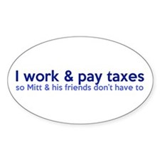 Working Class Taxes Decal