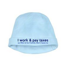 Working Class Taxes baby hat