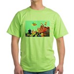 The Pride Festival Party  Green T-Shirt