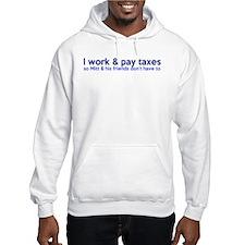 Working Class Taxes Jumper Hoody