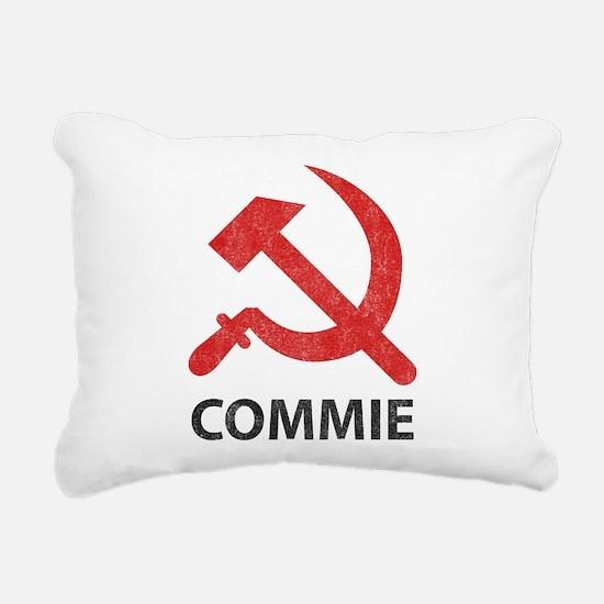 Vintage Commie Rectangular Canvas Pillow
